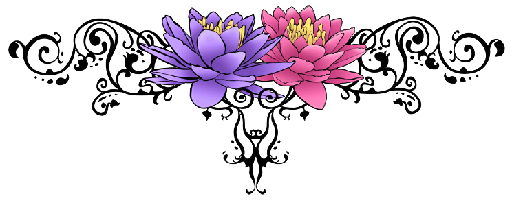 Flower Tattoo Free Png Image PNG Image