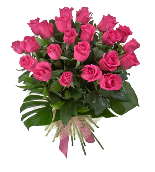 Pink Roses Flowers Bouquet Picture PNG Image