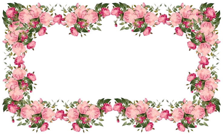 Download Flowers Borders Transparent Hq Png Image Freepngimg