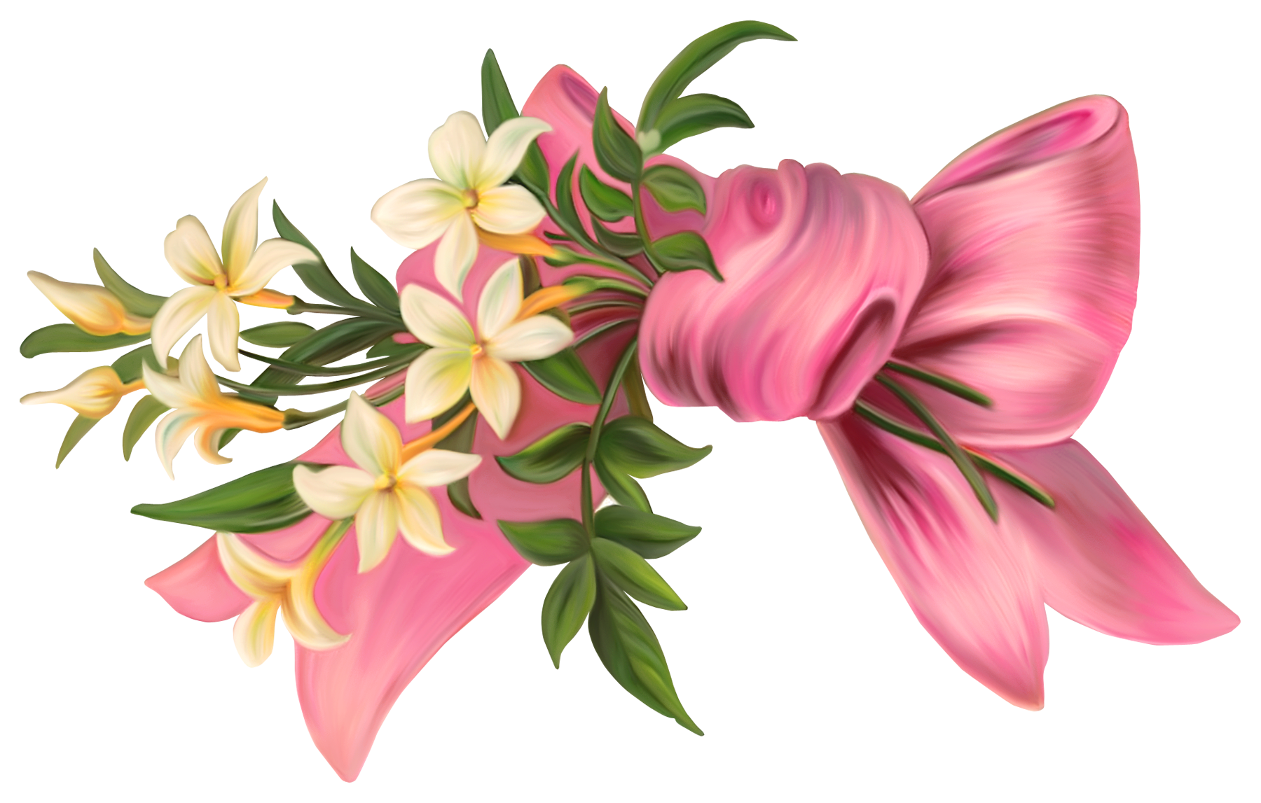 Pink lily flower transparent image the cliparts - Download Png Image Flowers Png 8