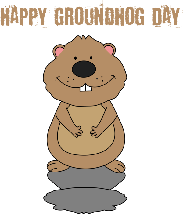 Download Groundhog Day Cartoon For Traditions Hq Png Image Freepngimg