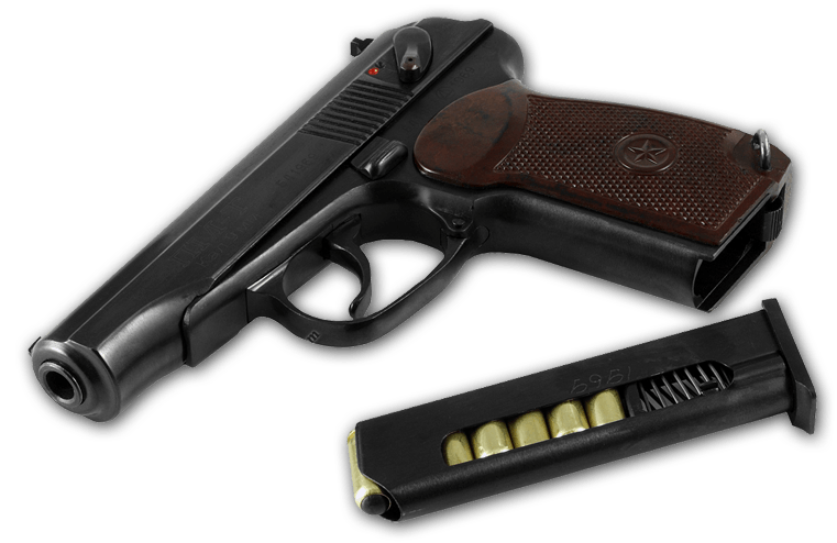 Download Makarov Handgun Png Image HQ PNG Image | FreePNGImg