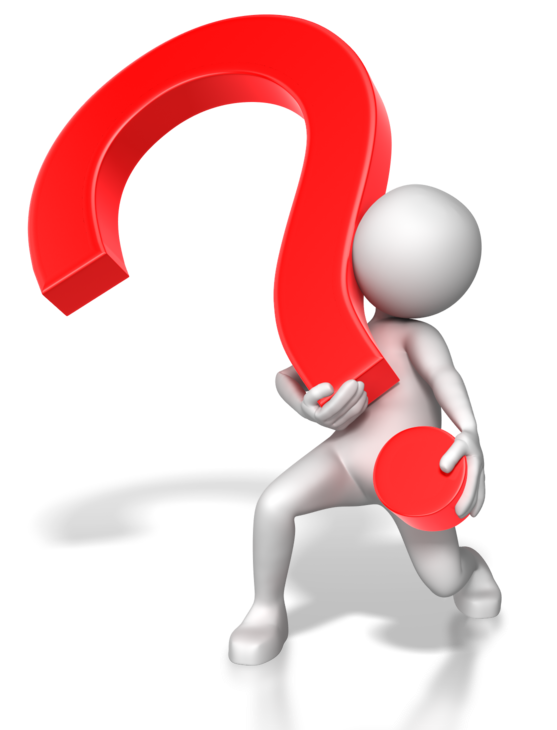 Figure Question Mark Animation Stick Hand Red PNG Image