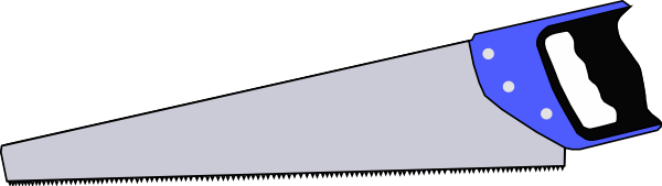 Hand Saw File PNG Image
