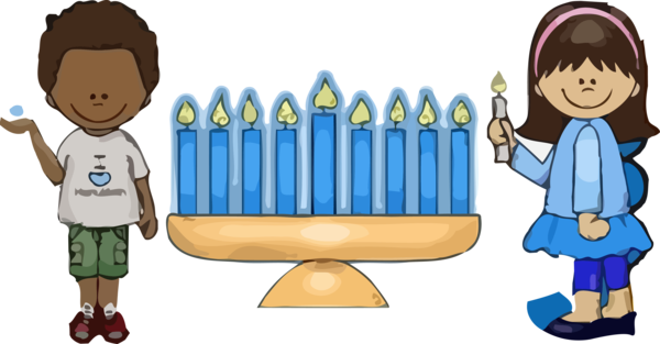 Hanukkah Cartoon Child Sharing For Happy Party Near Me PNG Image