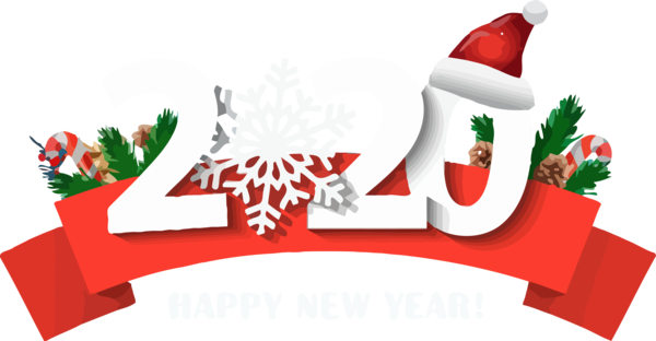 Christmas 2020 Png Download New Year 2020 Santa Claus Christmas Eve Decoration For