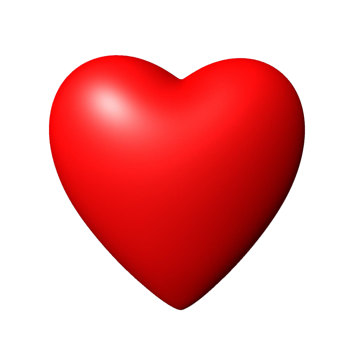 Download 3D Red Heart Image HQ PNG Image | FreePNGImg