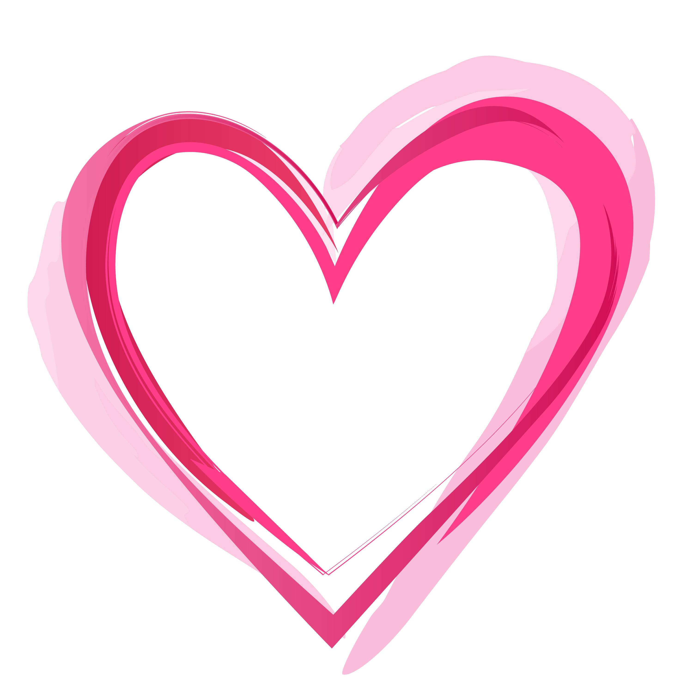 pink hears