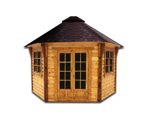 Wooden House Photo PNG Image