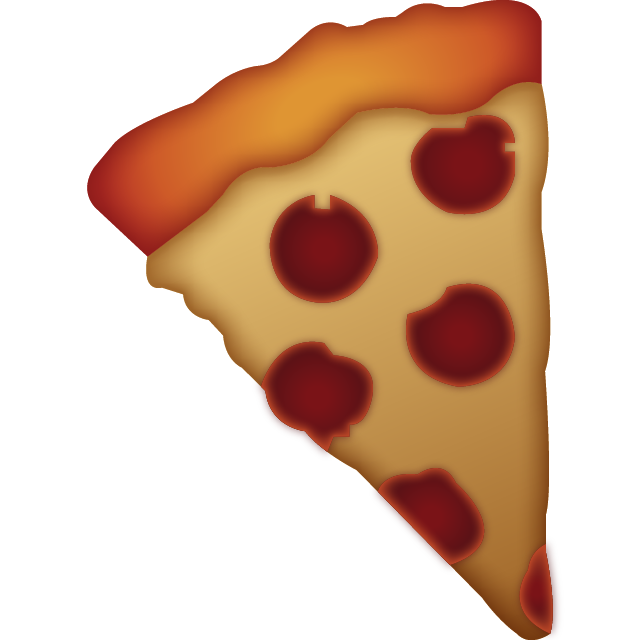 Slice of Pizza Emoji Free Photo Icon PNG Image