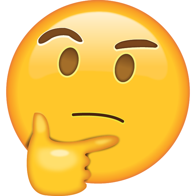 Thinking Emoji Free Photo Icon PNG Image