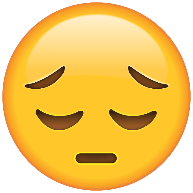 Sad Face Emoji Free Photo Icon PNG Image