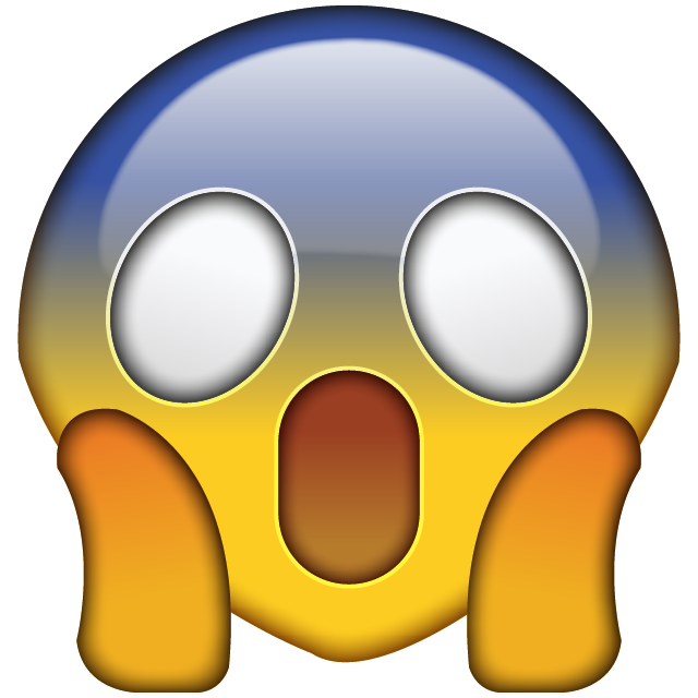 OMG Face Emoji Icon File HD PNG Image