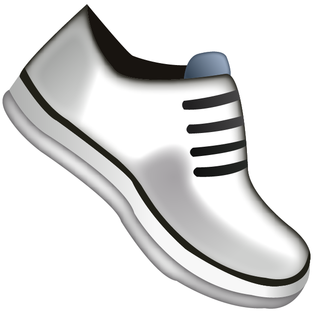 Athletic Shoe Emoji Icon Free Photo PNG Image