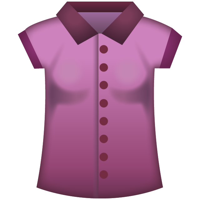 Womans Clothes Emoji Icon File HD PNG Image