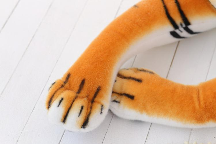 Tiger Plush Pillow Dolls Cute Tiger Stuffed Animal Toy 70cm Icon Download Free PNG Image