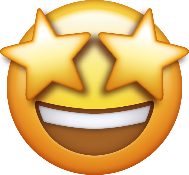 Star Eyes Emoji Icon Free Photo PNG Image