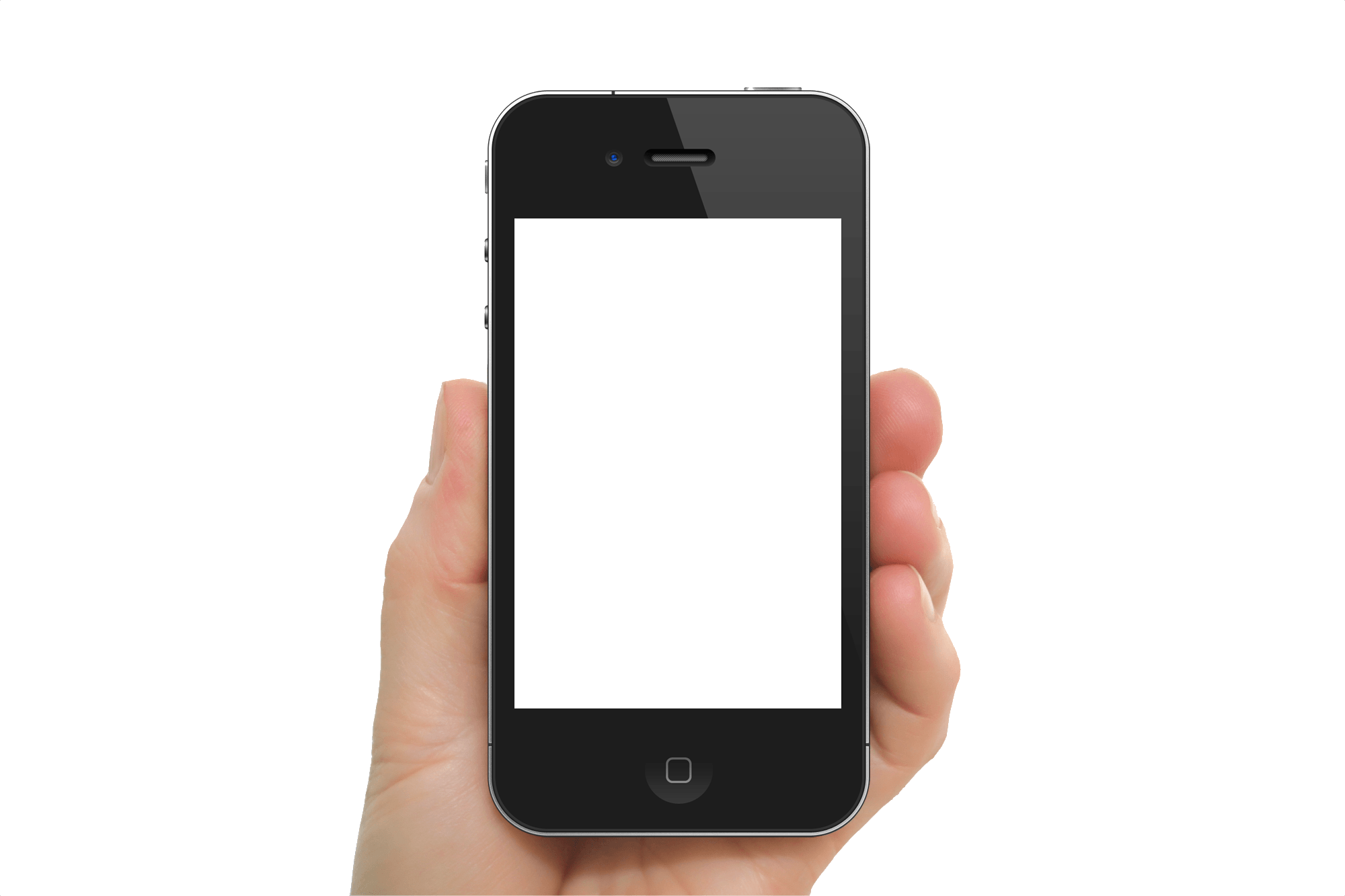iphone hand png. black iphone in hand transparent png image png
