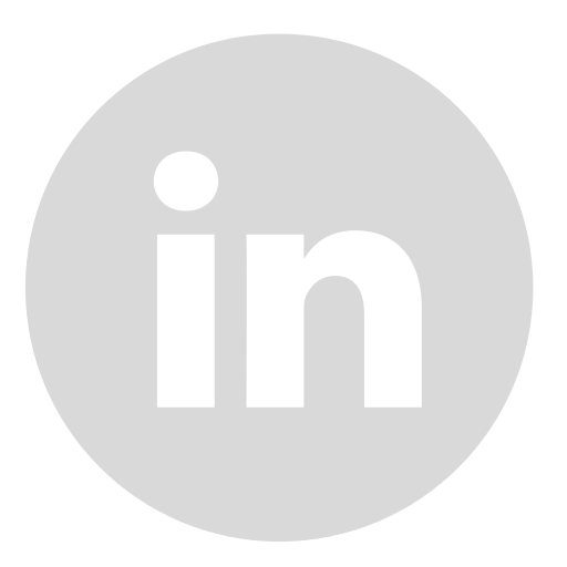 Business Icons Company Grey Linkedin Computer Advertising PNG Image