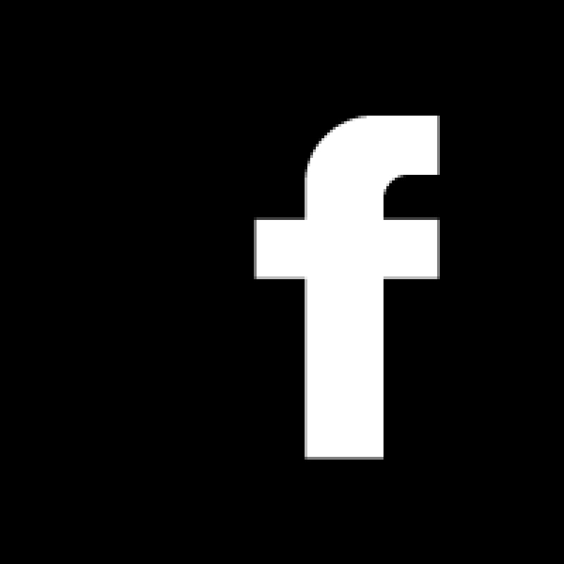 Icon black facebook Black facebook