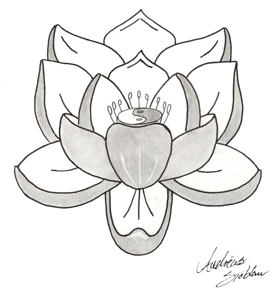 Lotus Tattoos Png Picture PNG Image