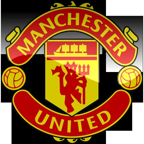 download manchester united 3d logo png hq png image