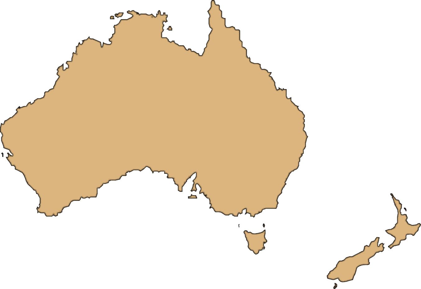 Download Australia Map Transparent Background Hq Png Image