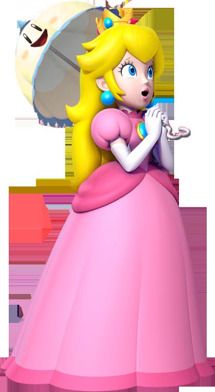 Super Mario Bros Princess Peach Coloring Pages
