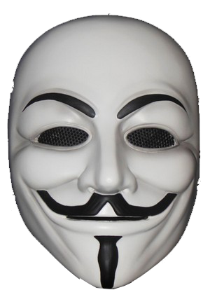 Anonymous Hackers Face Mask Graphics On Transparent Png ...   Anonymous Hackers Mask Png
