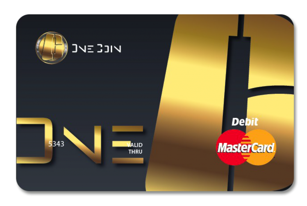 Bitcoin Cryptocurrency Mastercard Debit Onecoin Card PNG Image