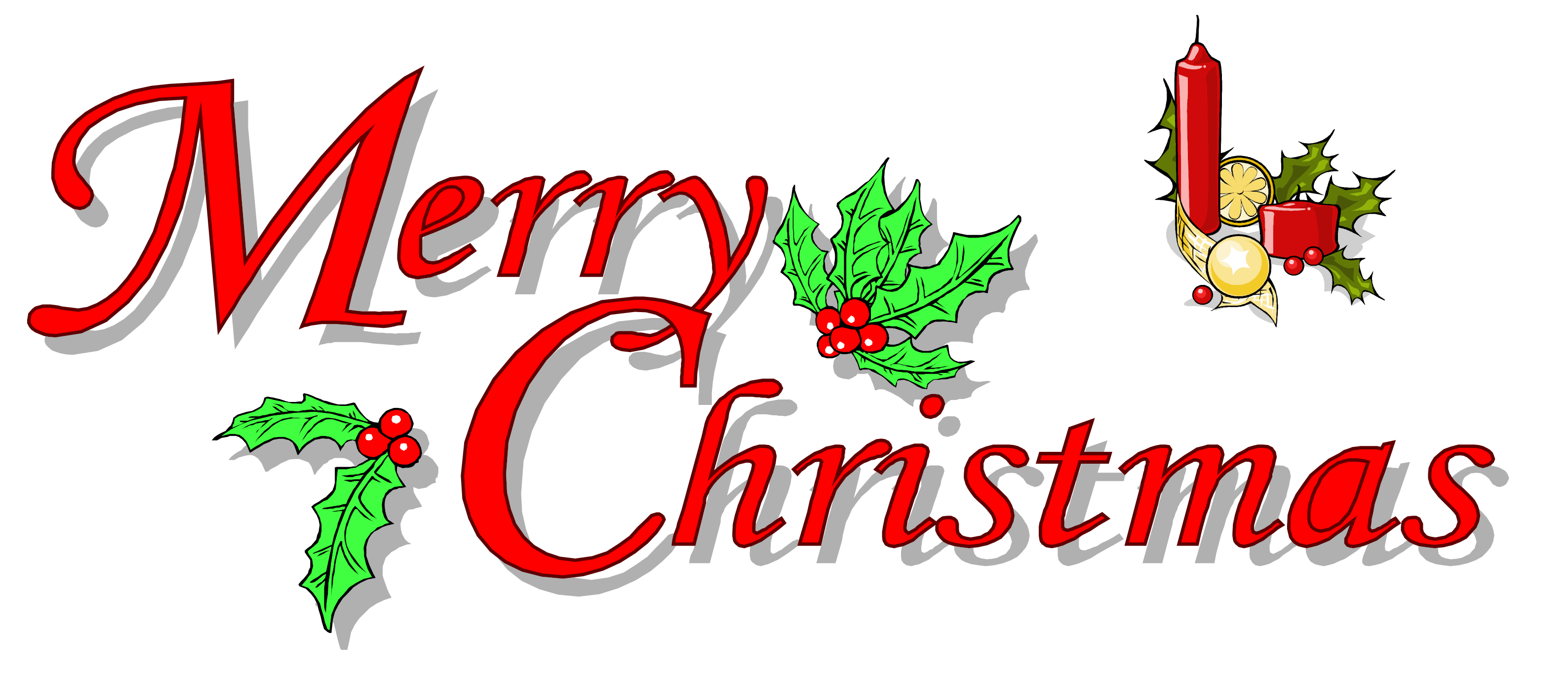 Download Merry Christmas Text Picture HQ PNG Image | FreePNGImg