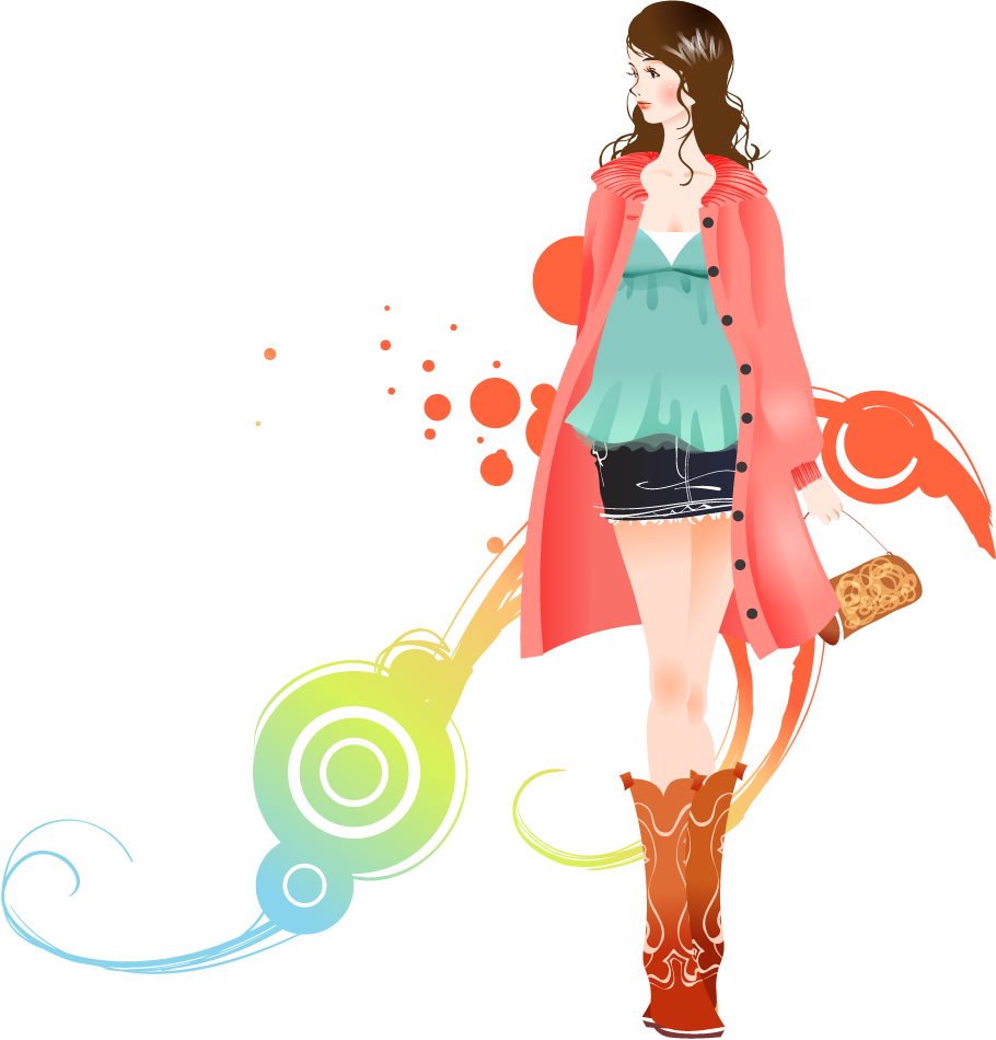Download Fashion Girl Transparent Background HQ PNG Image