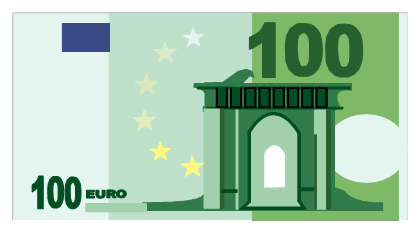 100 Euro Bill File PNG Image