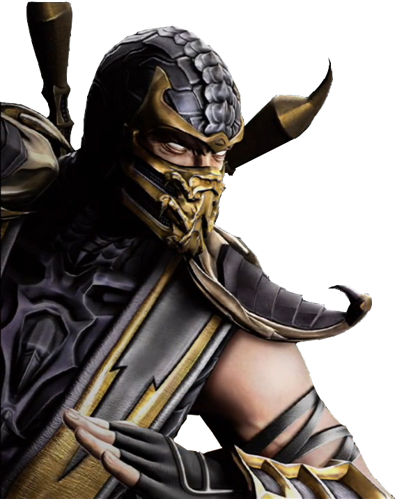 Download Mortal Kombat Scorpion Transparent Hq Png Image In