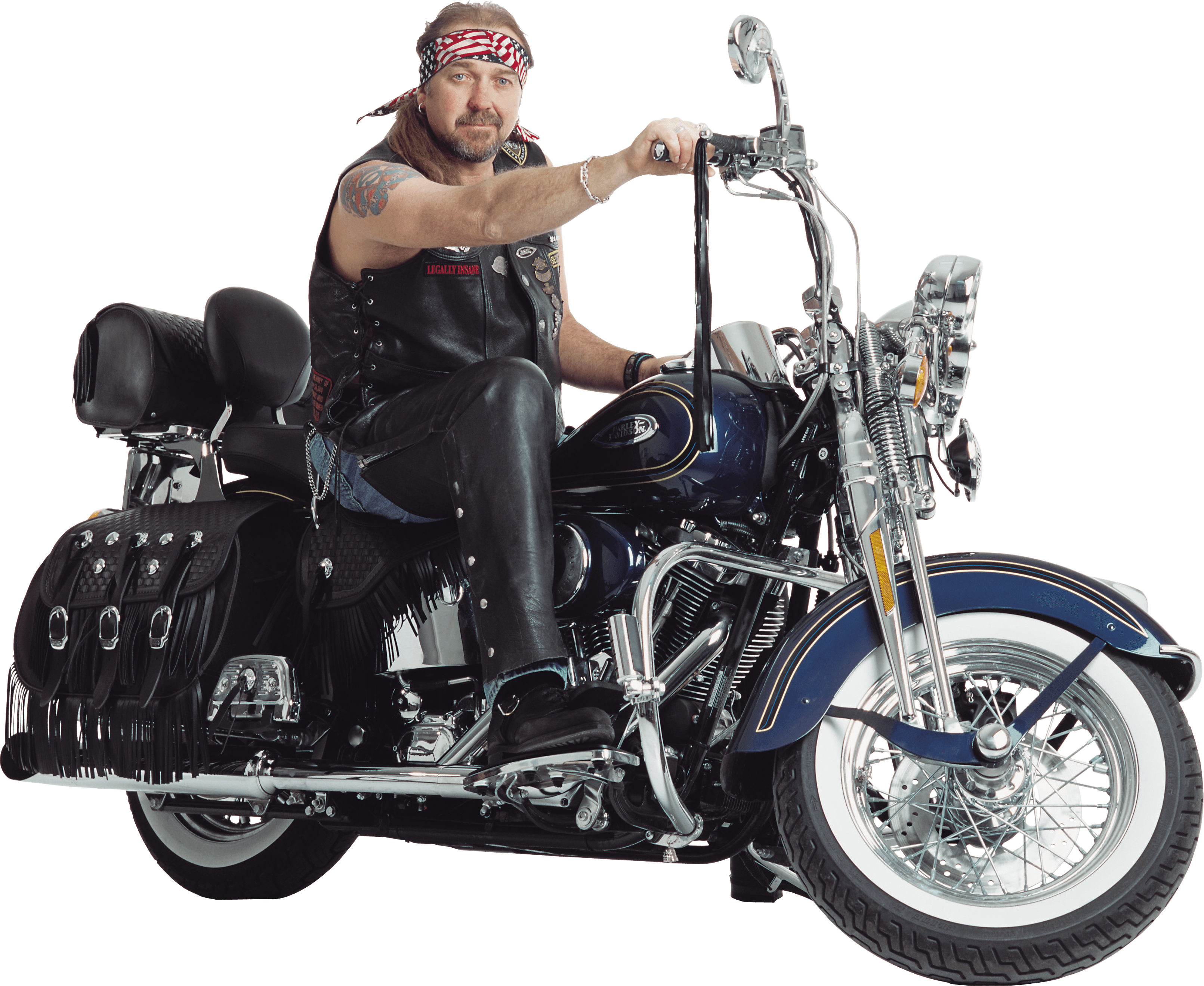 Motorbiker On Motorcycle Png Image Man On Motorcycle Png Image