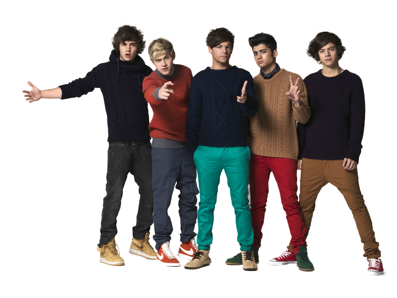 One Direction File PNG Image