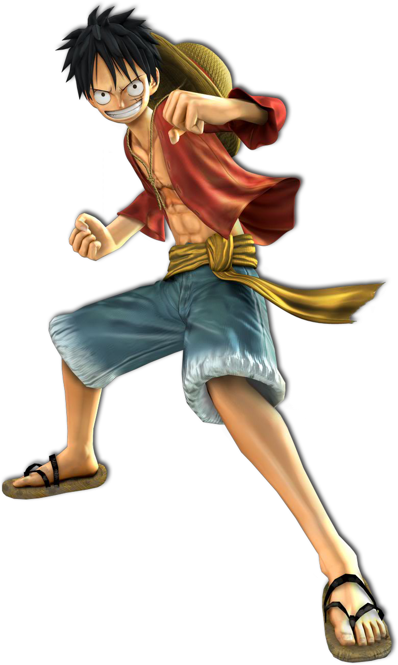 Monkey D Luffy Photo PNG Image