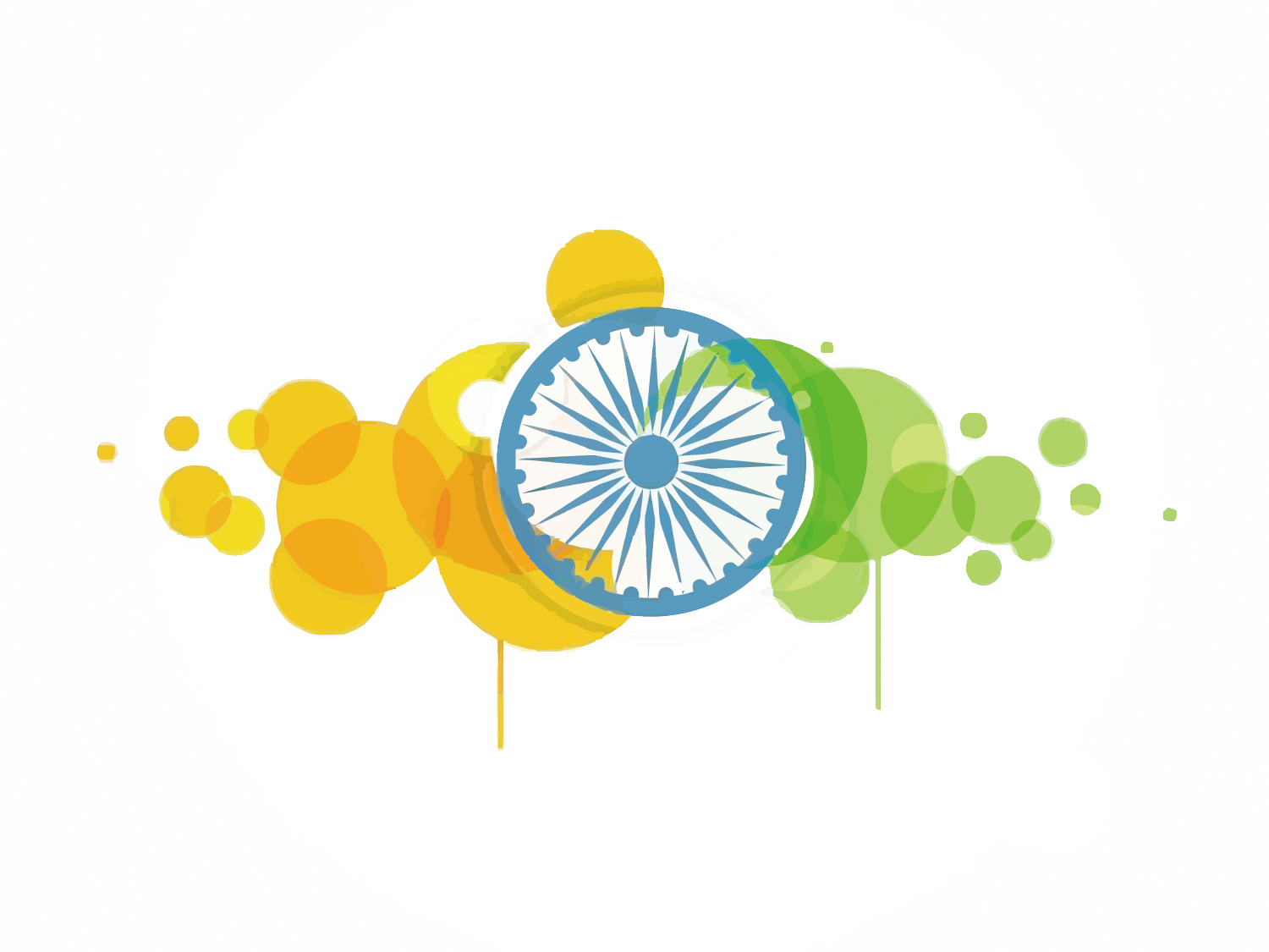 Computer Of Wallpaper India Yellow Flag Indian PNG Image