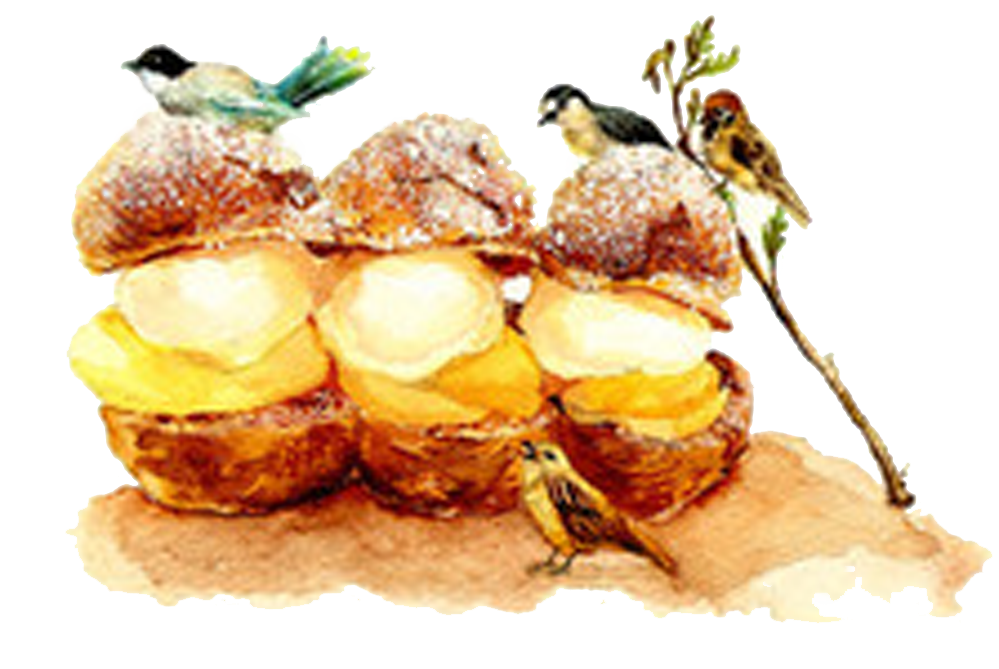 Profiterole Picture Food Dessert Twitter Material Ice PNG Image