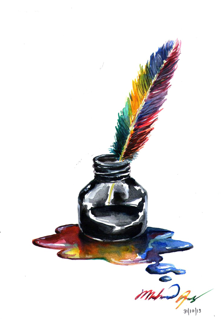 Ink Pot HD Free Photo PNG PNG Image