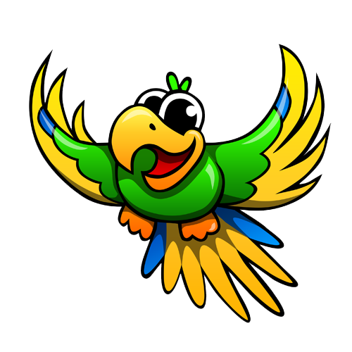 Cute Parrot Image PNG Image