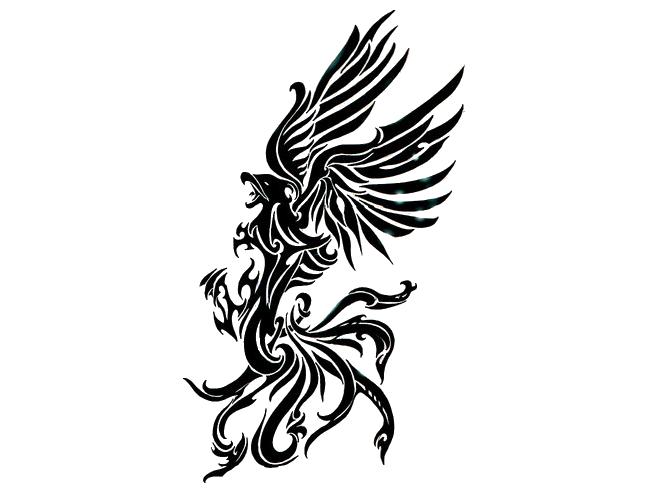 Download Phoenix Tattoos Png Clipart HQ PNG Image   FreePNGImg