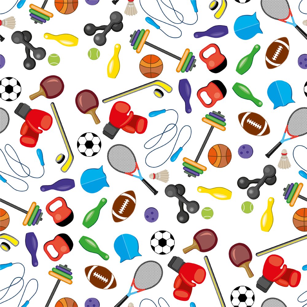 Sports Icon Collection Illustration Stock PNG Free Photo PNG Image