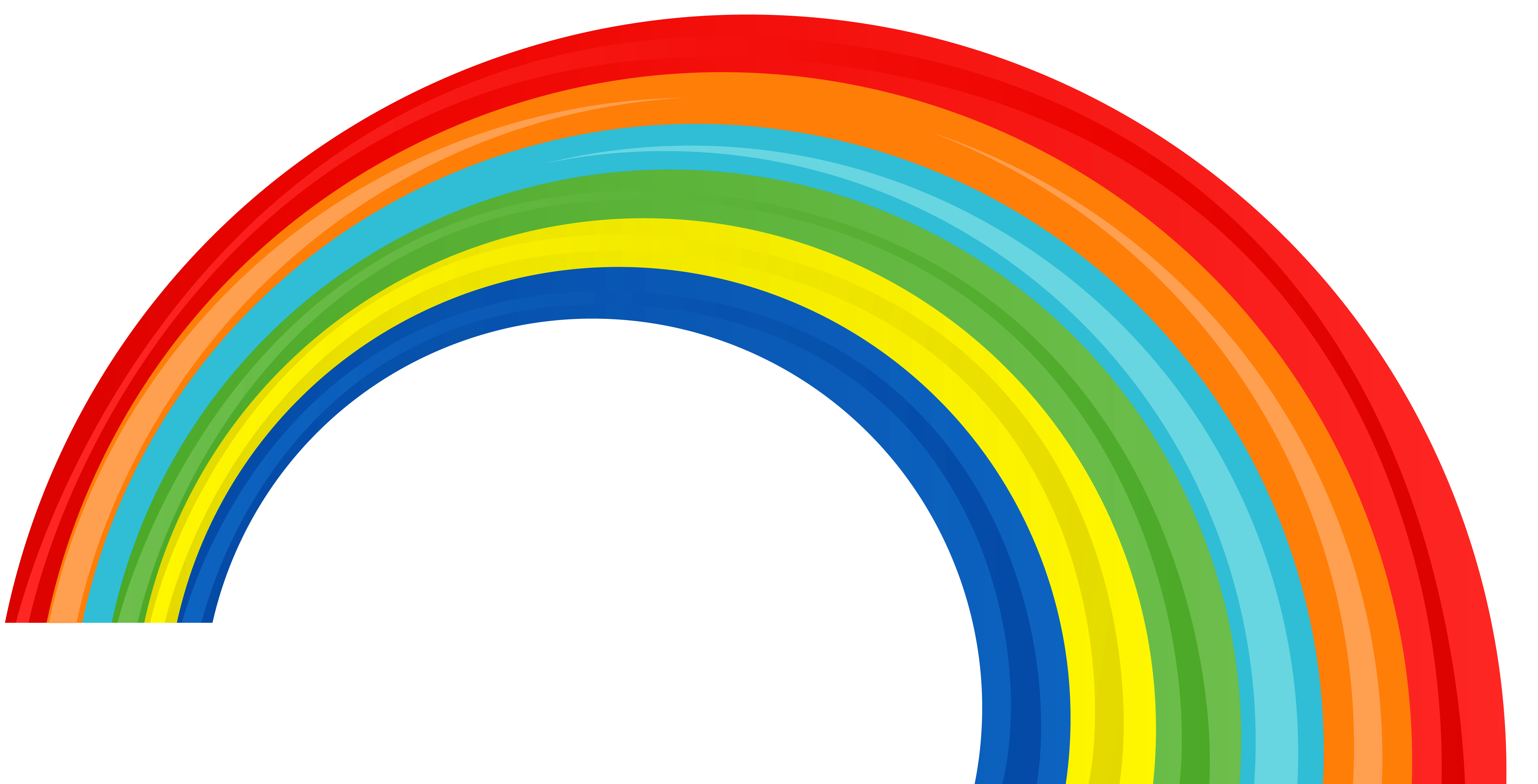 Rainbow Png Clipart PNG Image