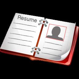 Resume Png Hd PNG Image  Resume Clip Art