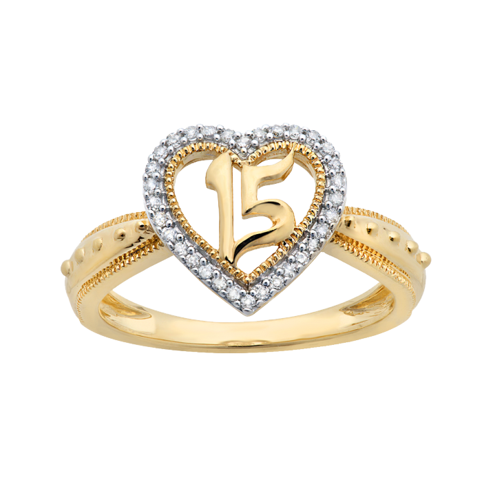 Heart Ring File PNG Image