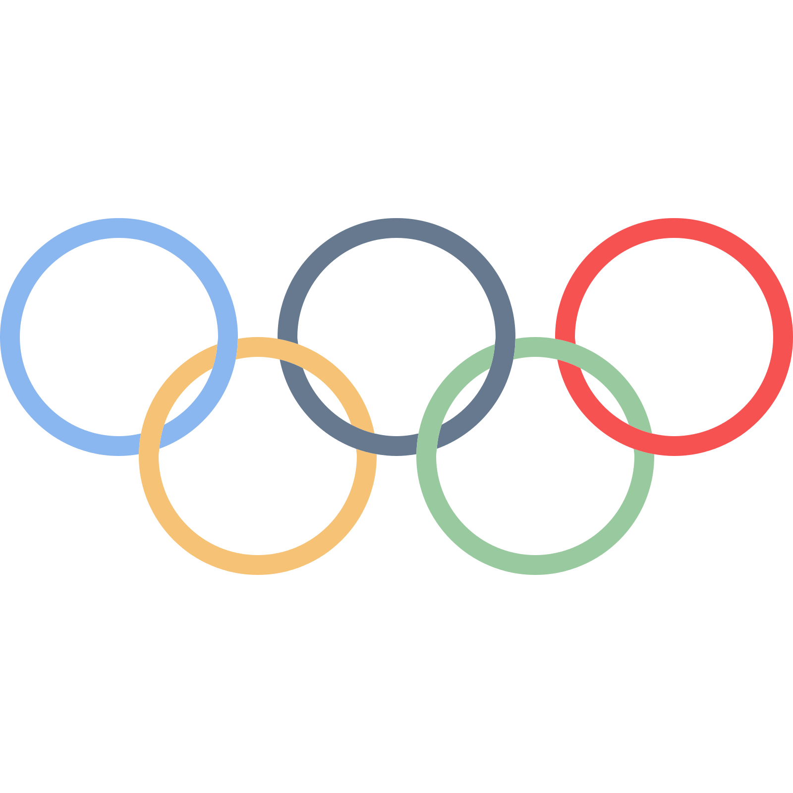 Olympic Olympics Winter Area Text Symbols Games PNG Image