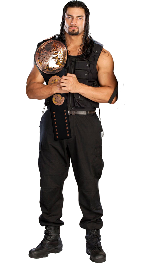 Roman Reigns Wrestler Png PNG Image