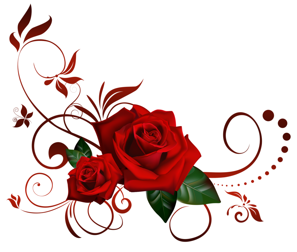 Gothic Rose Picture PNG Image