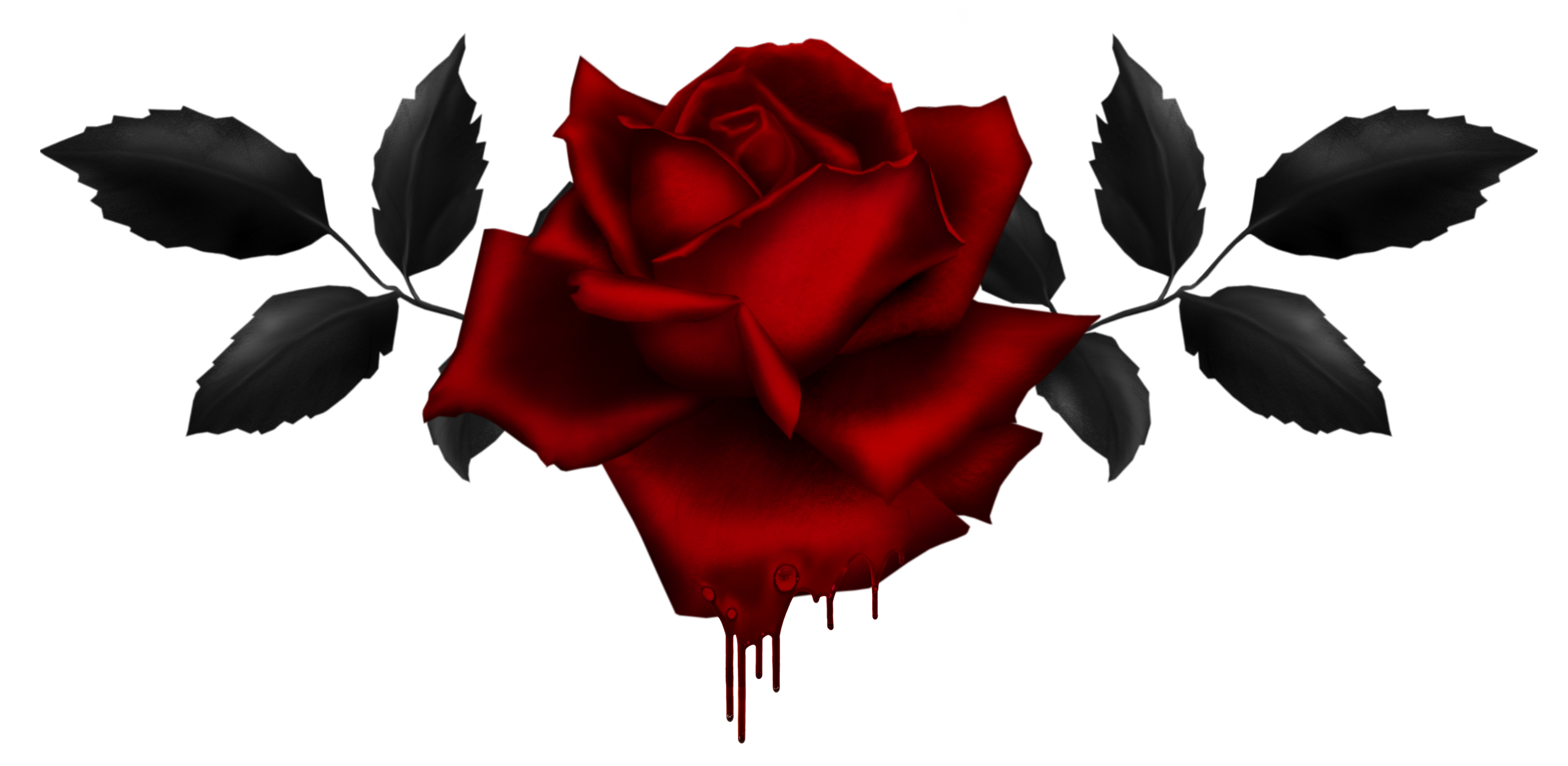 Gothic Rose Image PNG Image